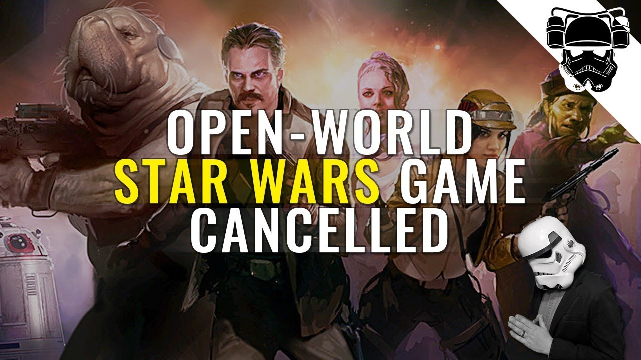 EA Cancels Open-World Star Wars Game