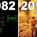 Evolution of Star Wars Games 1982 - 2018