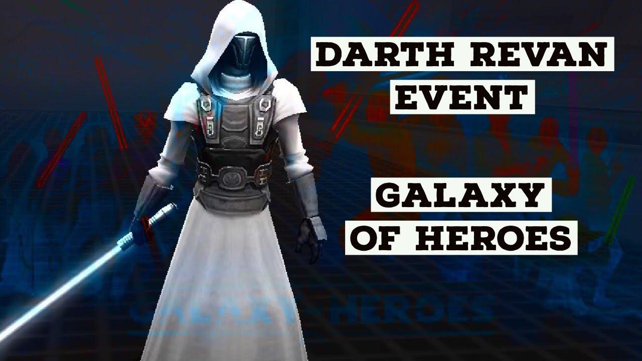 Star Wars Galaxy of Heroes Darth Revan is Live