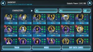 Star Wars Galaxy of Heroes: Event Calendar - March 2019