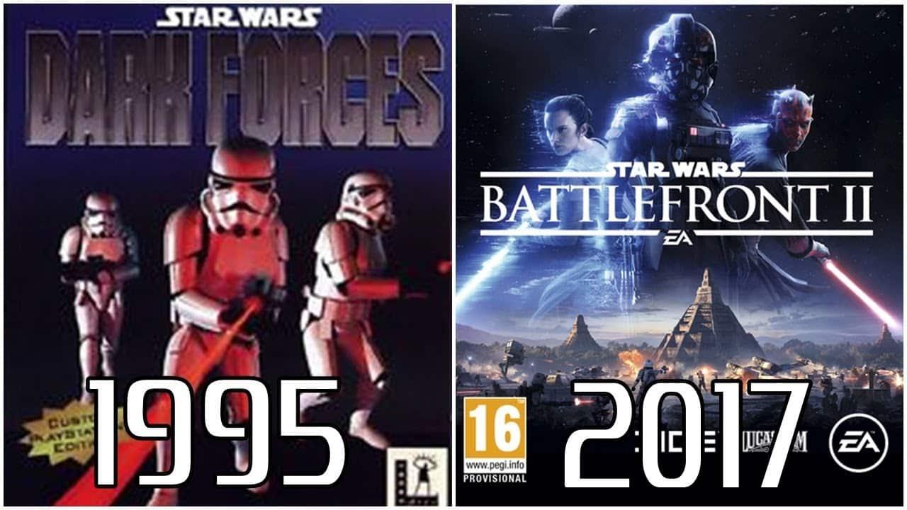 Star Wars PlayStation Evolution (1995-2017)