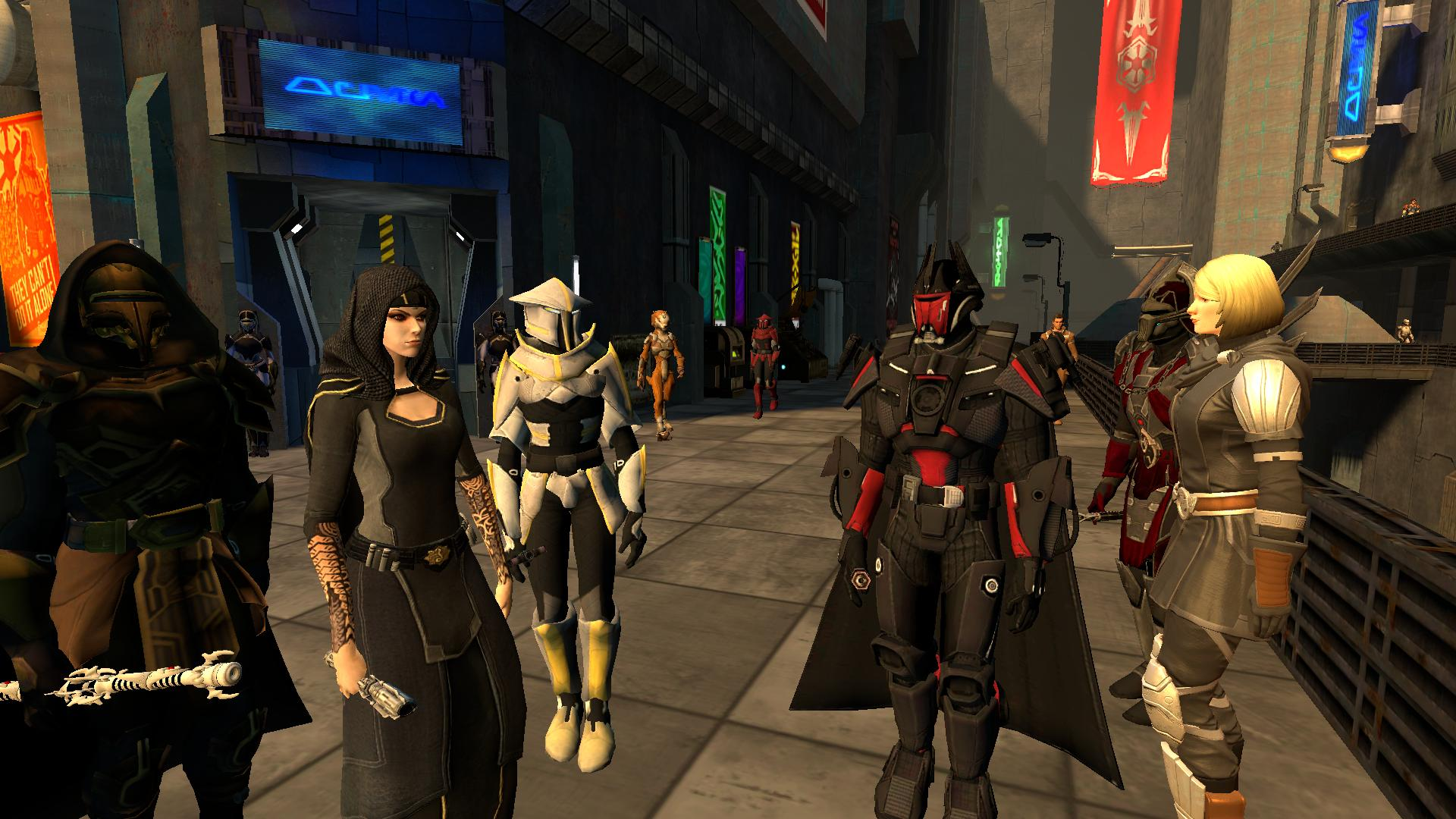 SWTOR reducing some of the limitations for Free-to-Play and Preferred players |